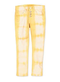 Girls 7-16 VIP Cloud Wash 4 Button Jeans - 1602065300026