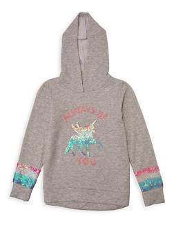 Girls 7-16 Always Be You Sweatshirt - 1606072200007