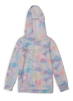 Girls 7-16 Magical Vibes Tie Dye Sweatshirt - 1606072200009