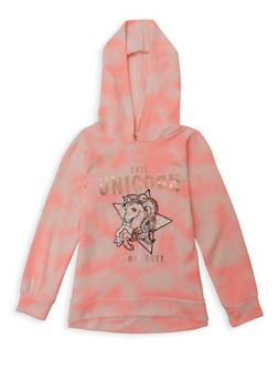 Girls 7-16 This Unicorn Is Off Duty Sweatshirt - 1606072200010