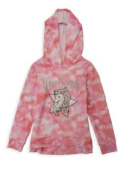 Girls 7-16 This Unicorn Is Off Duty Sequin Sweatshirt - 1606072200011