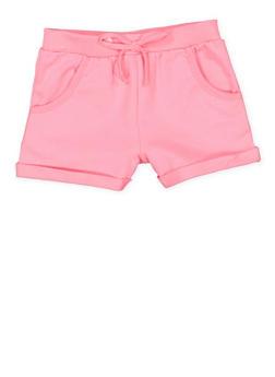 Girls 4-6x Fixed Cuff Shorts - 1611054730002