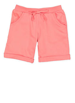 Girls 4-6x Cuffed Bermuda Shorts - 1611054730011