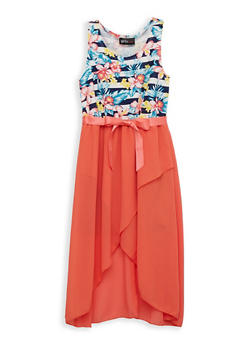 Girls 7-16 Tulip Hem Skater Dress - 1615051060450