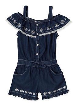 Blue Lace Denims