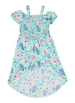d736bba46 Girls 7-16 Smocked Floral Maxi Romper - 1619023130050