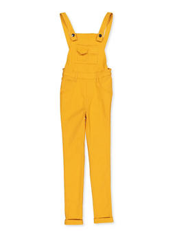 Girls 7-16 Hyperstretch Overalls - 1619056570008