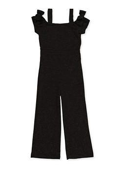 Girls 7-16 Glitter Jumpsuit - 1619063400017