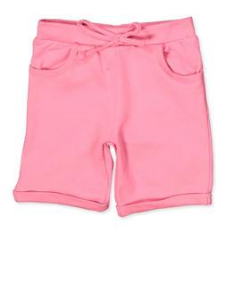 Girls 4-6x Fixed Cuff Bermuda Shorts - 1620054730030
