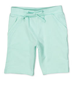 Girls 4-6x Bermuda Shorts - 1620054730031