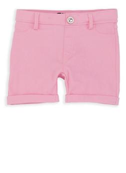Girls 4-6x Cuffed Hyperstretch Shorts - 1620063400021