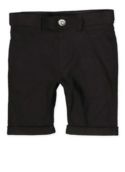 Black 6X Shorts