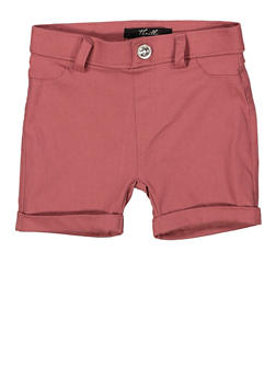Girls 4-6x Hyperstretch Cuffed Shorts - 1620063400031