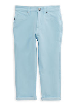 Girls 7-16 Stretch Capri Pants - 1621056570016