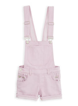 Girls 7-16 Hyperstretch Shortalls - 1621063400083