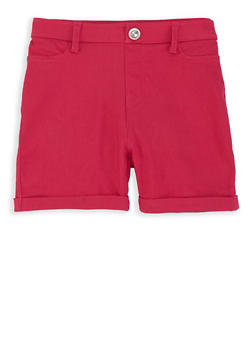 Girls 7-16 Hyperstretch Shorts - 1621063400090
