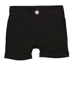 Girls 7-16 Hyperstretch Fixed Cuff Shorts - 1621063400130