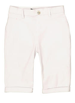 Girls 7-16 Hyperstretch Bermuda Shorts | 1621063400135 - 1621063400135