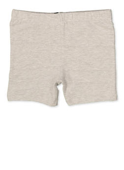 Girls 4-6x Bike Shorts | Heather - 1622068320010