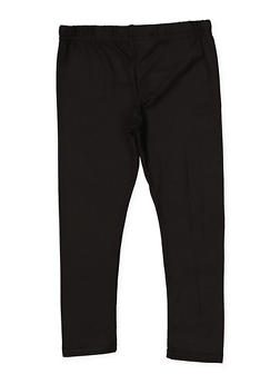 Girls 4-6x Basic Soft Knit Leggings - 1622073990005