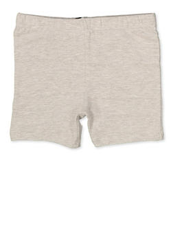 Girls 7-16 Bike Shorts | Heather - 1623068320010