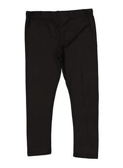 Girls 7-16 Basic Soft Knit Leggings - 1623073990005