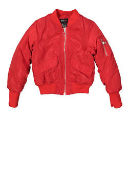 Girls 4-6x Bomber Jacket - 1626051060090