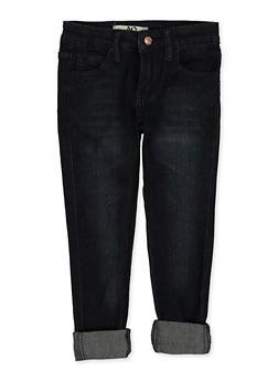 Girls 4-6x Roll Cuff Jeans - 1628056720080