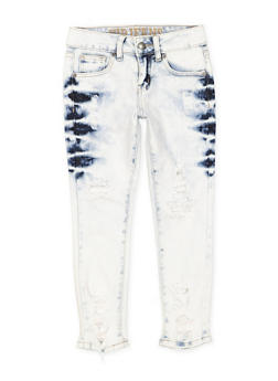 Girls 7-16 VIP Distressed Skinny Jeans - 1629065300111