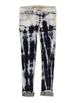 Girls 7-16 VIP Tie Dye Jeans - 1629065300165