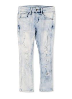 Girls 7-16 VIP Cloud Wash Skinny Jeans - 1629065300170