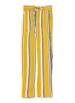 Girls 7-16 Striped Pants - 1631051060064