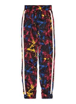 Girls 7-16 Tie Dye Windbreaker Joggers - 1631051060081