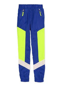 Girls 7-16 Zip Pocket Windbreaker Joggers - 1631051060121