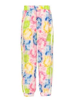 Girls Tie Dye Windbreaker Joggers - 1631051060168