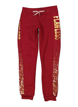 Girls 7-16 Flawless Graphic Joggers - 1631063400009