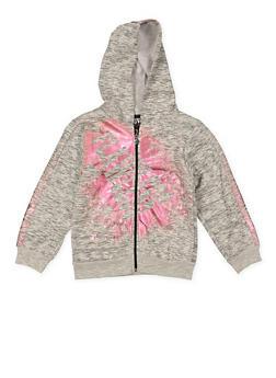 Girls 7-16 Flawless Graphic Zip Up Sweatshirt - 1631063400010