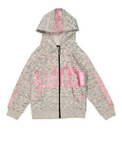 Girls 7-16 Boss Foil Graphic Sweatshirt - 1631063400014