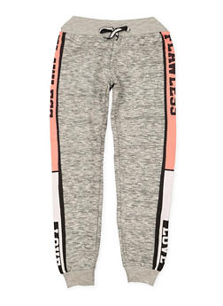 Girls 7-16 Flawless Love Graphic Joggers - 1631063400128