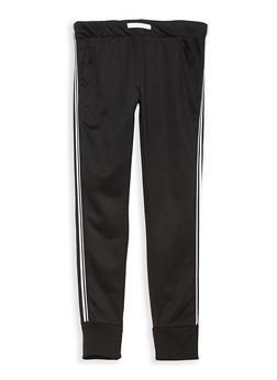 Girls 7-16 Side Stripe Sweatpants - 1631073270010