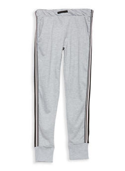 Girls 7-16 Side Stripe Sweatpants - 1631073270010