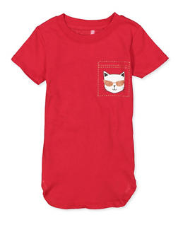 Girls 4-6x Are You Kitten Me Right Meow Tee - 1634066590362