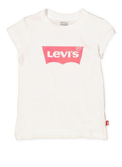 Girls 4-6x Levis Glitter Graphic Tee - 1634070340010