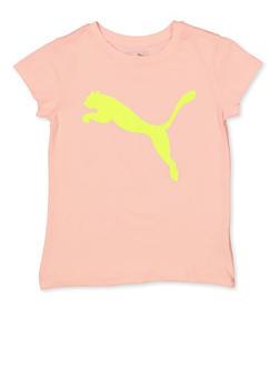 Girls 7-16 Puma Neon Graphic Tee - 1639075230020