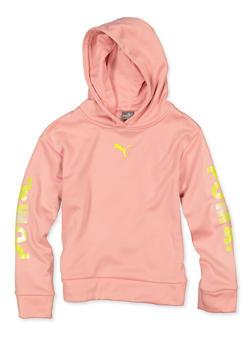 Girls 7-16 Puma Pullover Sweatshirt - 1639075230040