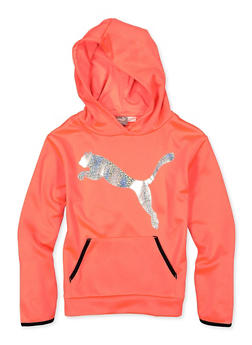 Girls 7-16 Puma Foil Graphic Sweatshirt - 1639075230043