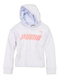 Girls 7-16 Puma Hooded Pullover Sweatshirt - 1639075230047