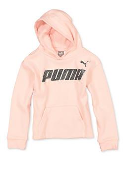 Girls 7-16 Puma Fleece Lined Hooded Sweatshirt - 1639075230048