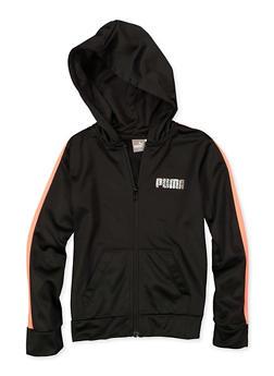 Girls 7-16 Puma Hooded Active Sweatshirt - 1639075230059