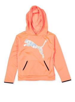 Girls 7-16 Puma Holographic Sweatshirt - 1639075231000